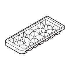 シャープ 冷蔵庫用 製氷皿(201 416 1631)