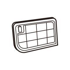 シャープ 洗濯機用 乾燥フィルター(サブ)(210 337 0524)