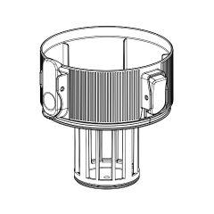 シャープ 掃除機用 筒型フィルター(上)(217 110 3677)