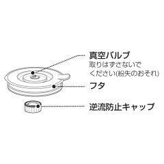 シャープ 真空ブレンダー用 ブレンダー容器 フタ部