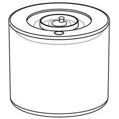 シャープ 真空ブレンダー用 保存容器<L>