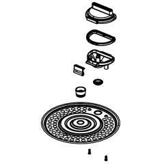 シャープ 炊飯器用 内ぶた(234 117 0667)