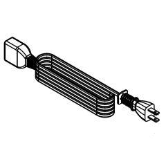 シャープ 炊飯器用 電源コード(234 500 0069)