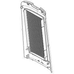 シャープ 加湿空気清浄機用 後ろパネル<ホワイト系>(280 158 0953)