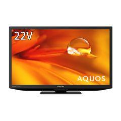 22V型 地上・BS・110度CSデジタルハイビジョン液晶テレビ<ブラック系>