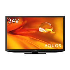 24V型 地上・BS・110度CSデジタルハイビジョン液晶テレビ<ブラック系>