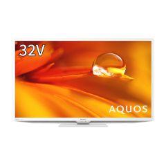 32V型 地上・BS・110度CSデジタルハイビジョン液晶テレビ<ホワイト系>
