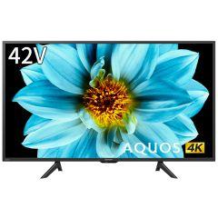 42V型 4K液晶テレビ+標準配送設置サービス セット
