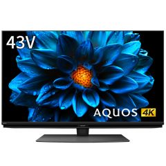 43V型 4K液晶テレビ+標準配送設置サービス セット