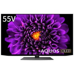 55V型 4K有機ELテレビ+標準配送設置サービス セット