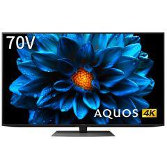 70V型 4K液晶テレビ+標準配送設置サービス セット