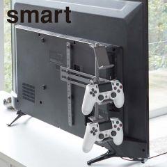 テレビ裏ゲームコントローラー収納ラック/スマート ブラック