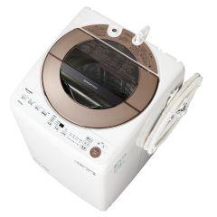 全自動洗濯機<ブラウン系>+標準配送設置サービス セット