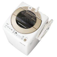 全自動洗濯機<ゴールド系>+標準配送設置サービス セット