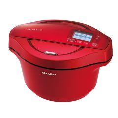 水なし自動調理鍋 へルシオ ホットクック<無線LAN搭載><2.4Lタイプ><レッド系>