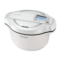 水なし自動調理鍋 へルシオ ホットクック<無線LAN搭載><2.4Lタイプ><ホワイト系>