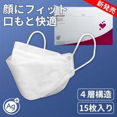 【通常購入】不織布マスク-シャープクリスタルマスク(15枚入り)
