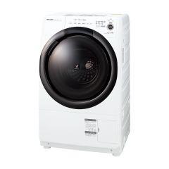 【右開きタイプ】プラズマクラスタードラム式洗濯乾燥機<ホワイト系>+標準配送設置サービス セット