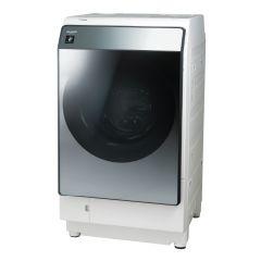 【右開きタイプ】プラズマクラスタードラム式洗濯乾燥機<シルバー系>+標準配送設置サービス セット
