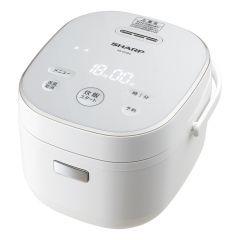 ジャー炊飯器 0.54L(0.5合~3合)<ホワイト系>