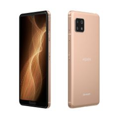 SIMフリースマートフォン AQUOS sense5G<ライトカッパー>
