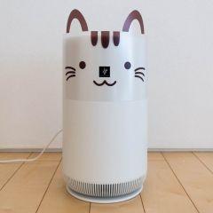 【COCORO STORE限定】空気清浄機(猫デコレーションカバーセット)<おすすめ畳数:6畳まで>